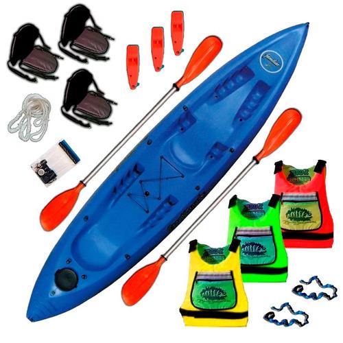 kayak sportkayaks sk familiar 3 pers. triplo c3 en palermo