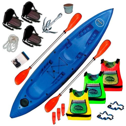 kayak sportkayaks sk familiar 3 pers. triplo c4 en palermo