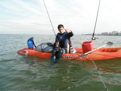 kayak triplo k3 atlantikayaks 3 pers. c1 local caba