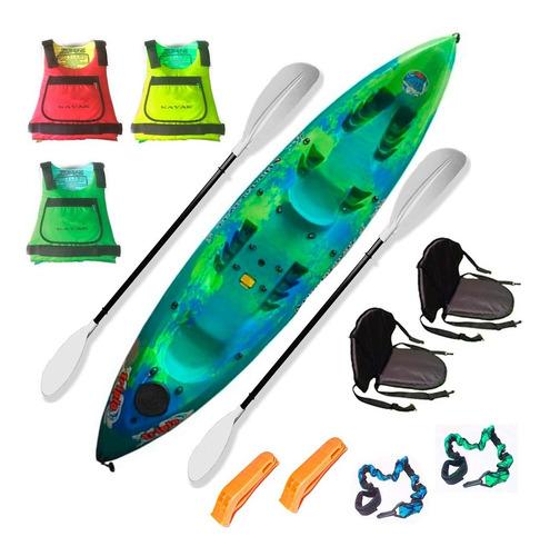kayak triplo k3 atlantikayaks 3 personas c1 envio gratis!!
