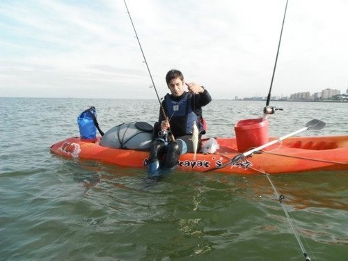 kayak triplo k3 atlantikayaks c4 3 pers. local palermo