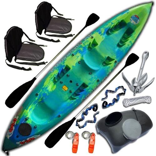 kayak triplo k3 atlantikayaks c5 3 pers. local en palermo