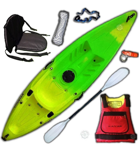 kayak yukon de samoa pesca c2 rep. oficial. envio gratis!