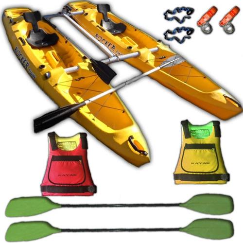 kayaks rocker twin kit catamaran c6 local palermo
