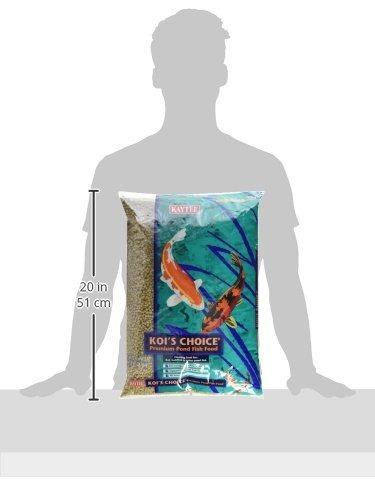 kaytee de los pescados de koi premium choice food, bolsa de
