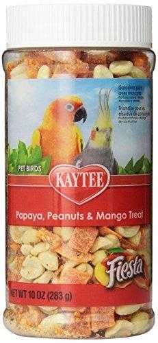 kaytee fiesta de la papaya, mango cacahuetes y placer para