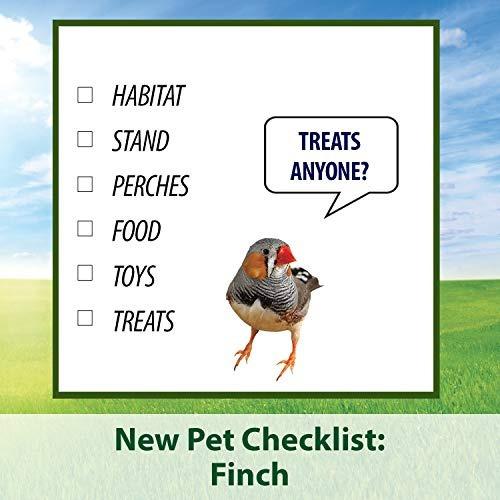 kaytee supreme bird food para pinzones, bolsa de 25 lb