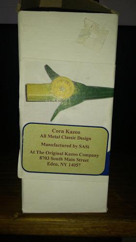 kazoo corn metal