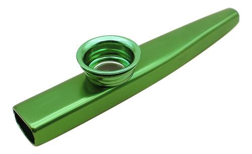 kazoo metal de aleación de aluminio con 5 piezas de diafragm