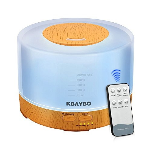kbaybo 500ml cool mist humidifier aromas ultrasonidos dif...