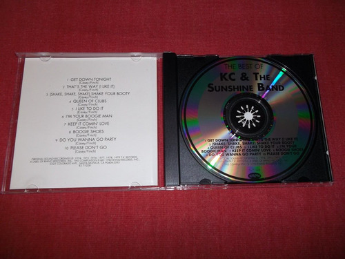 kc and the sunshine band - the best of cd imp ed 1992 mdisk