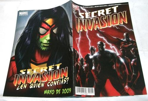 kcg secret invasion. marvel semanal 2 numeros sueltos