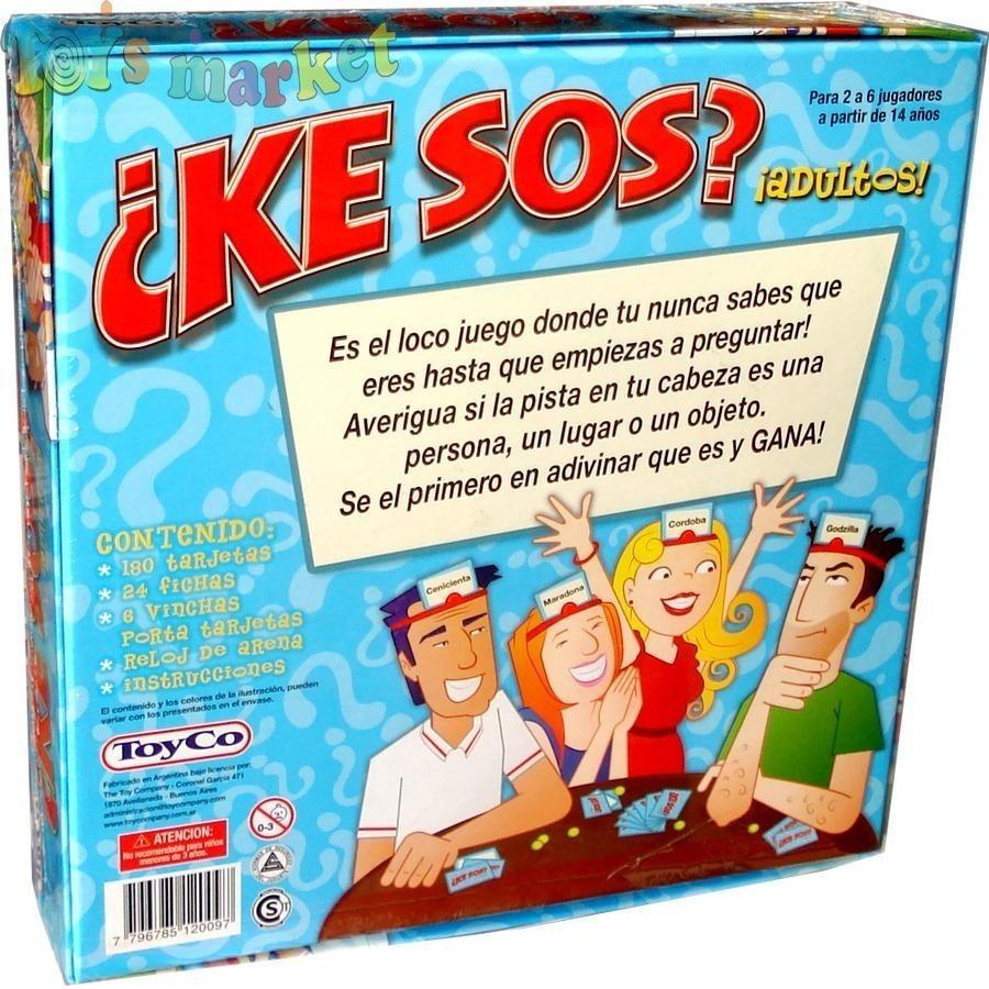 Ke Sos Adultos Juego De Mesa Toyco El De Tv Milcosaslanus 599