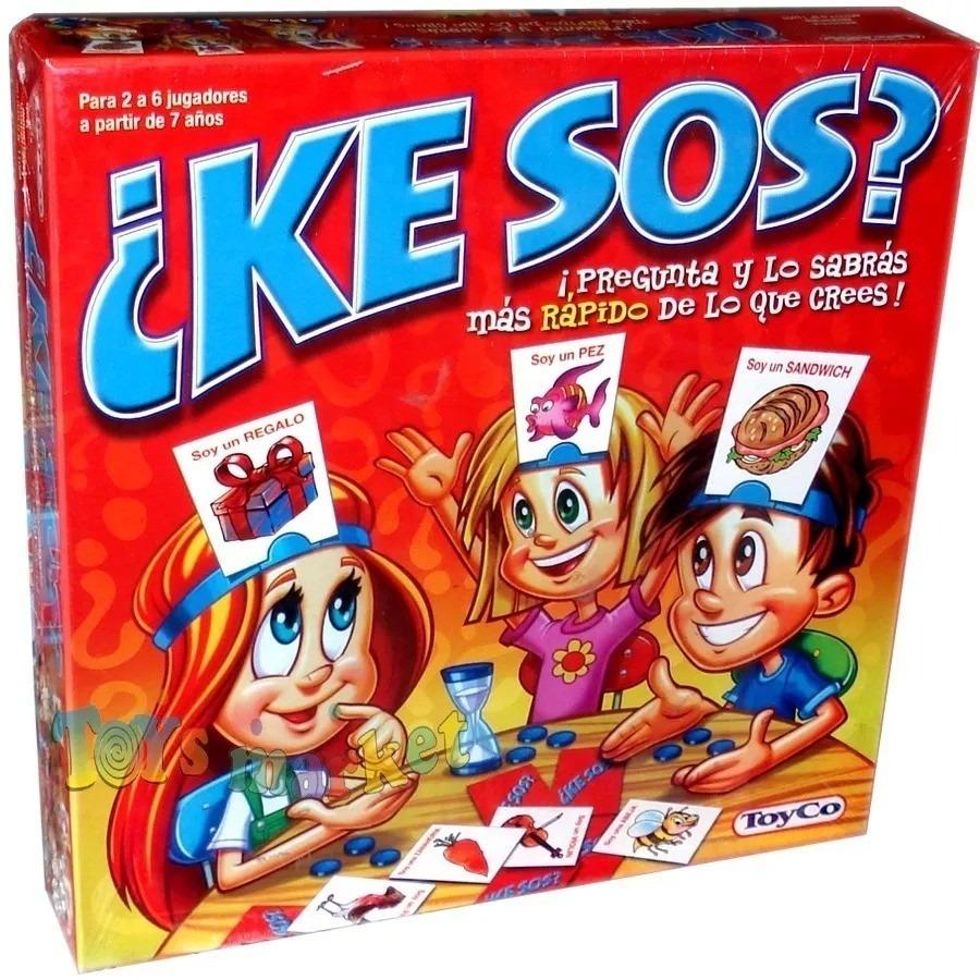 Ke Sos Juego De Mesa Ninos Adivinanza Original 950 00 En