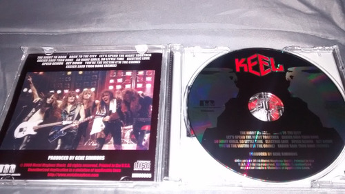 keel  - the right to rock (steeler, motley crue, kiss)