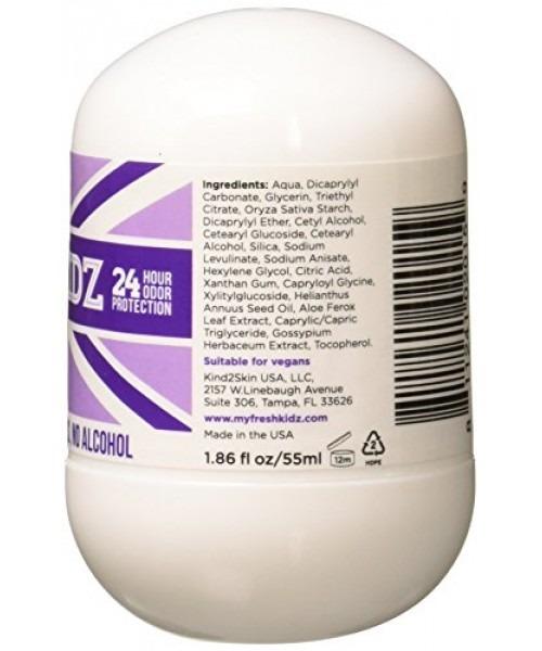 Keep It Kind Fresh Kidz Natural Roll On Deodorant Protecc