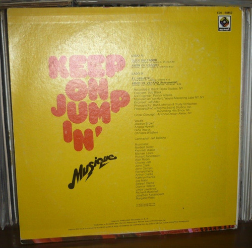 keep on jump in lp musique
