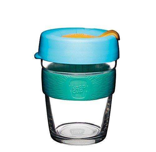 keepcup 12 oz copa de café reutilizable copa de vidrio templ