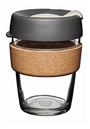 keepcuptaza reutilizable de vidrio para café, prensa, mult