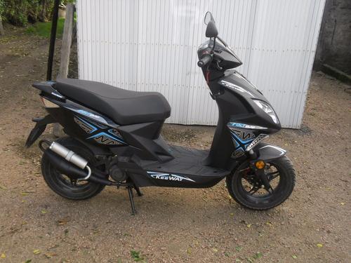 keeway 50 cc negra año 2015 como de fabrica 1250 dolares
