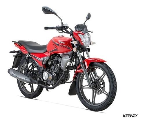 keeway rk 150 - 18 cuotas de $6.993 - entrega inmediata!