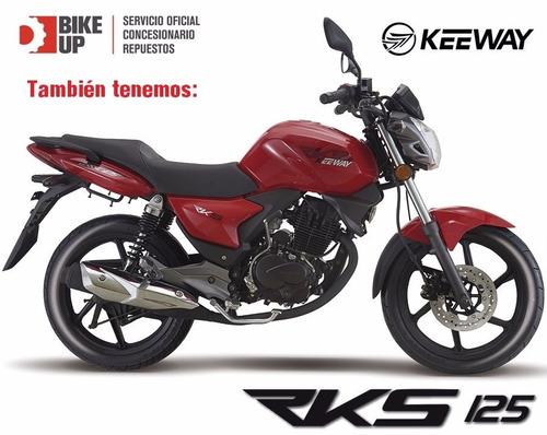keeway rk125 - tomamos tu usada - empadrona y soa - bike up