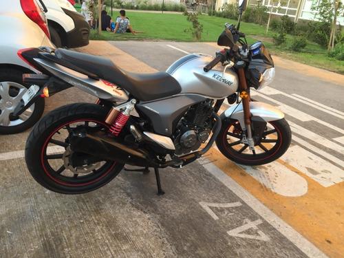 keeway rkv 150cc color plata año 2018 negociable