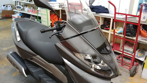 keeway silverbleade 2016 gris plata tipo scooter
