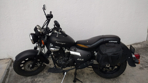 keeway superlight 200cc mod 2016 color negro