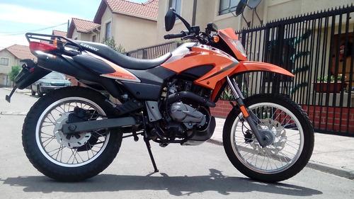 keeway tx 200 cc - año 2016 - enduro