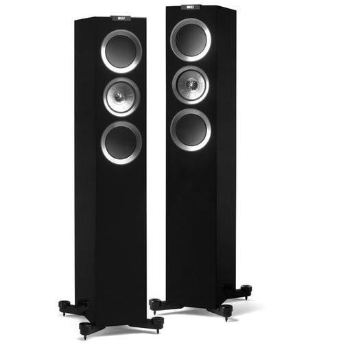 kef caixa r500gb  torre     black  r  series (und)