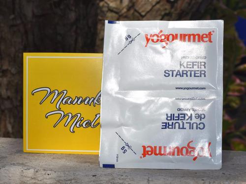 kefir leche búlgaros tibicos  sellado al vacio envió gratis