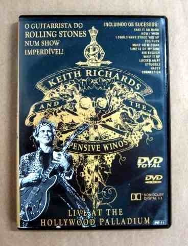 keith richards & x pensive winos live at the hollywood dvd