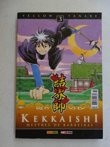kekkaishi nº 3! panini agosto 2010!