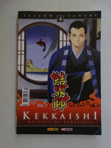 kekkaishi nº 4! panini setembro 2010!