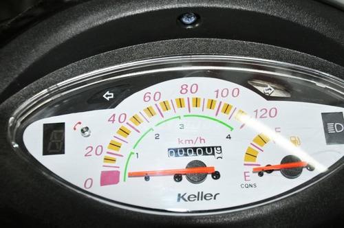 keller crono 110 0km no zanella zb 110 110cc