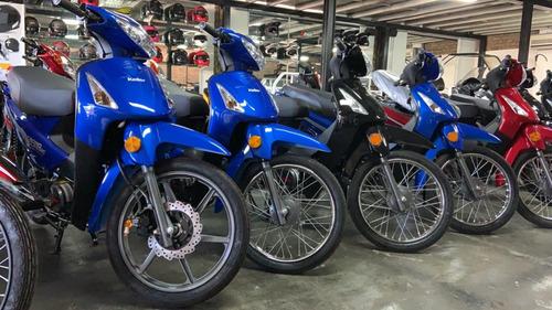 keller crono 110 classic azul 0km ap motos glovo rappi