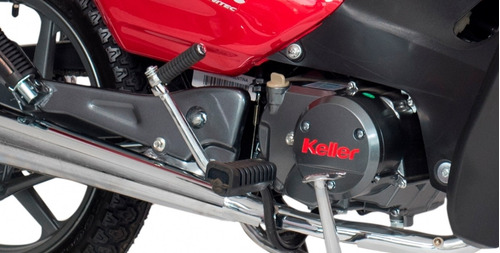 keller crono classic 110 full - aleacion y freno a disco usb