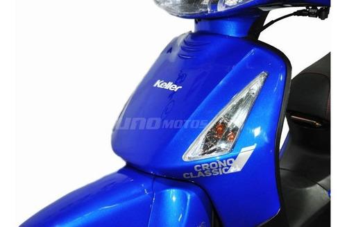 keller crono classic 110 plus aleación color azul kcp5