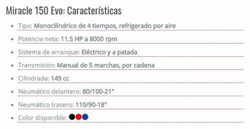 keller miracle 150 evo 0km 2018 enduro tab. digital cross