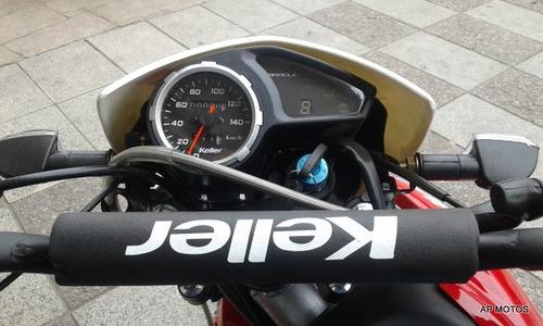 keller miracle 150 negra 0km enduro ap motos
