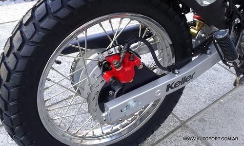 keller miracle 200 rojo 0km autoport motos delivery