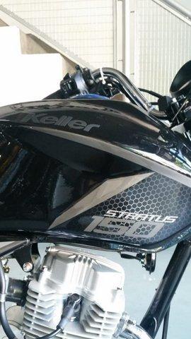 keller stratus 150 cg s2 full negro 0km ap motos