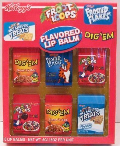 kelloggs froot loops lip balm sabor dig´em 40% off!!!!!!!