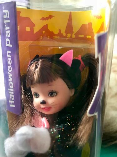kelly (barbie) halloween disfrazada de gato