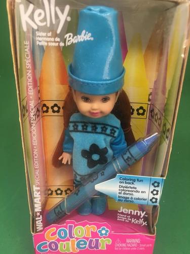 kelly color couleur barbie jenny amiga ruiva 2003