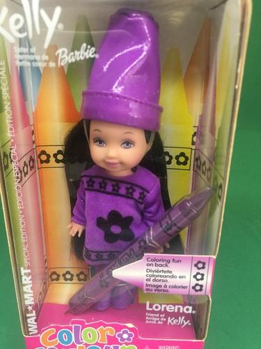 kelly color couleur barbie lorena amiga morena 2003
