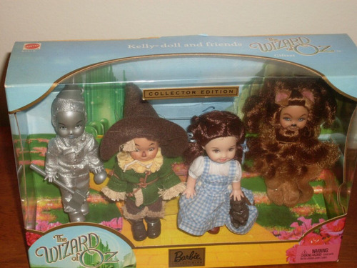kelly dolls as the wizard of oz collection
