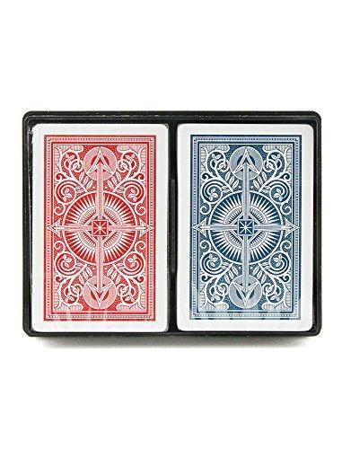 kem arrow rojo y azul poker sizejumbo index playing cards pa