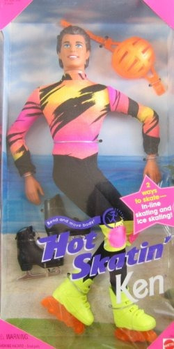 ken barbie hot skating
